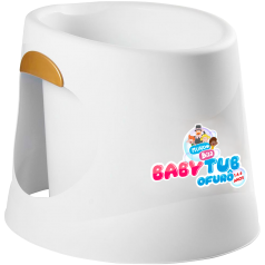 Baby Tub Ofurô Branca Mundo Bita
